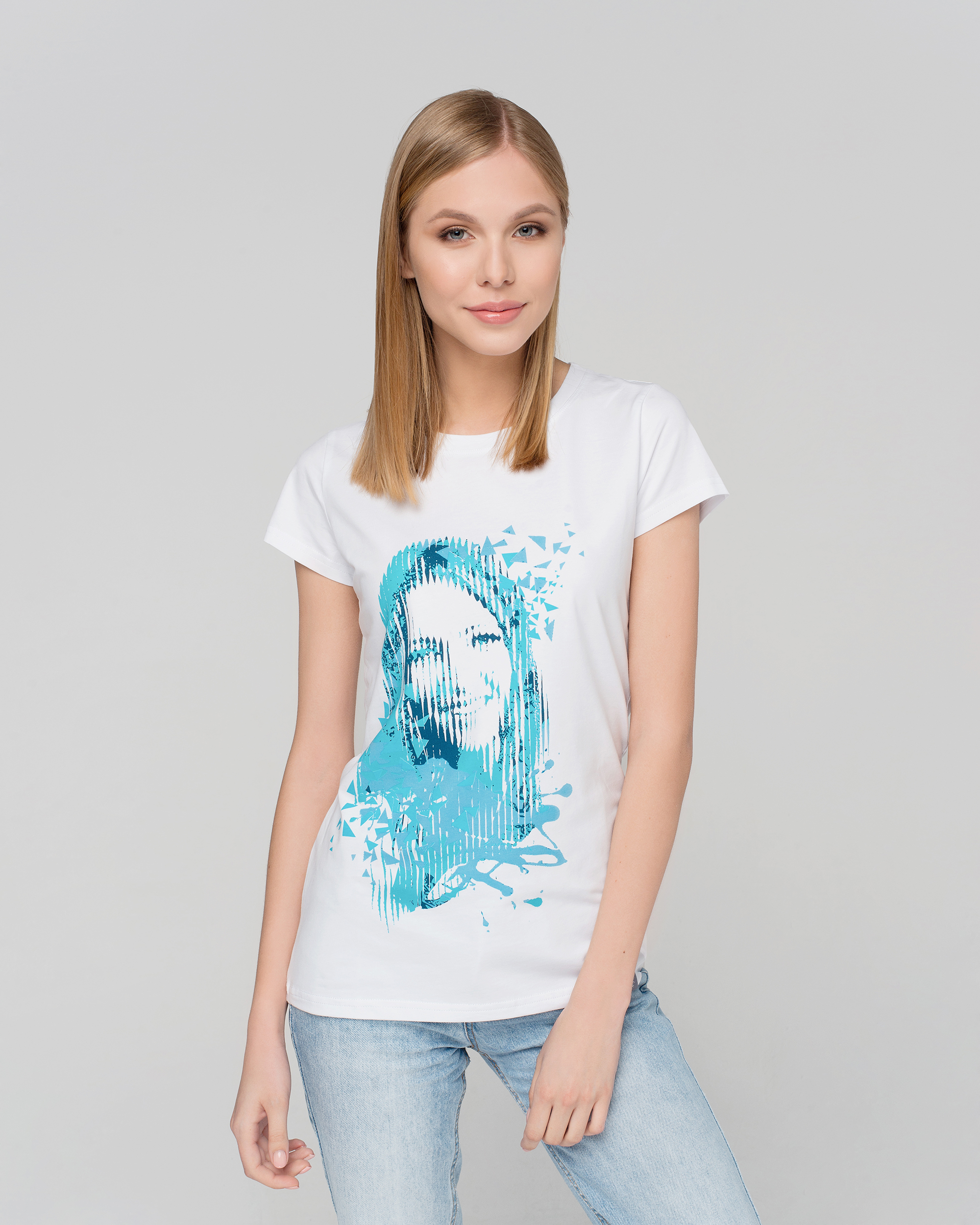 9502d3d15a33 T-shirt DD Blue – Darya Domracheva online-store