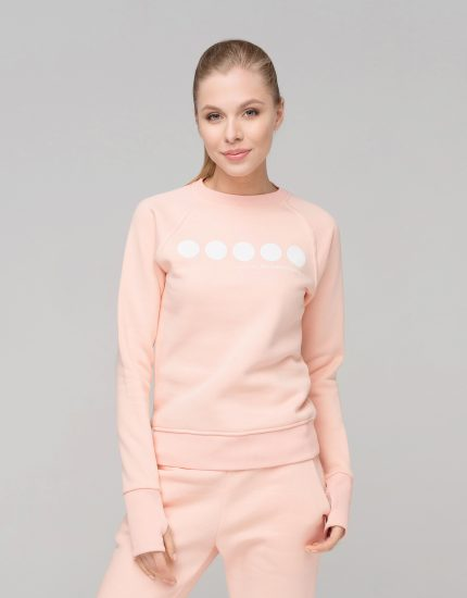Sweatshirt High Five Peach Puff
