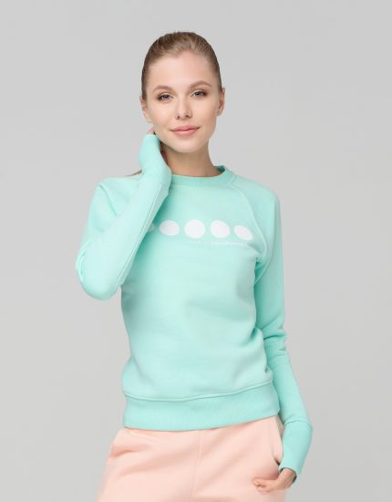Sweatshirt High Five Green Mint