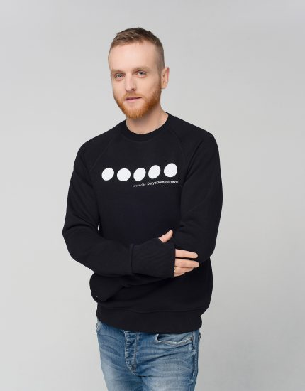 Sweatshirt High Five Black