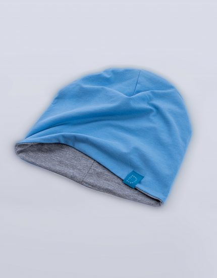 Шапка Doubleside Light Blue/Light Grey