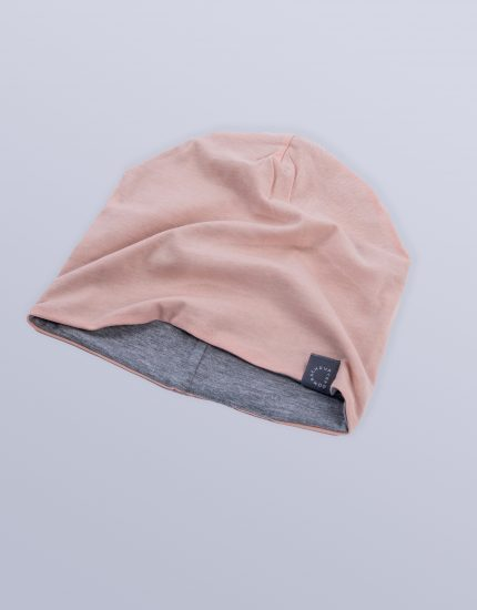 Hat Doubleside Peach/Light Grey