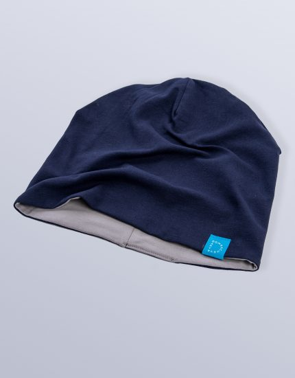 Hat Doubleside Dark Blue/Grey