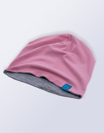 Hat Doubleside Pink/Light Grey