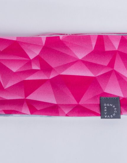Повязка Pink/Grey Crystal