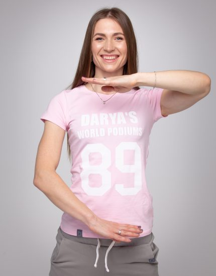 T-shirt DARYA'S WORLD PODIUMS  (Копия)