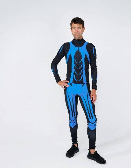 RACING SUIT BLACK-BLUE