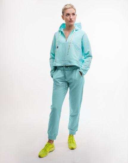 Спортивный костюм «Вдохновляет на движение» (мятный)