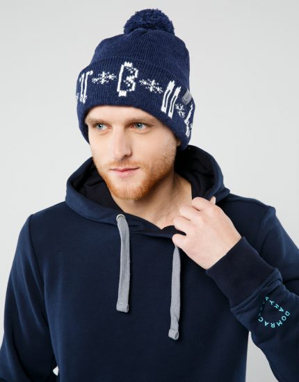 "Hat ""Winter"" Dark Blue"