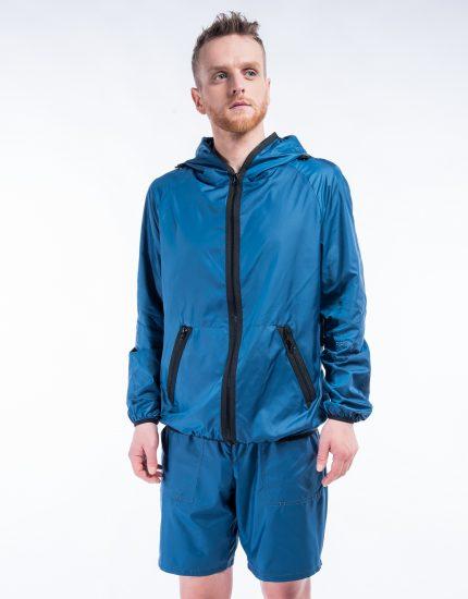 Windproof jacket – Pack in bag – Ocean storm