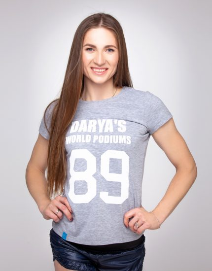 T-shirt DARYA'S WORLD PODIUMS
