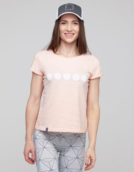 T-shirt High Five Peach Puff